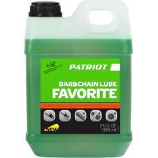 Масло для смазки цепи PATRIOT Favorite Bar&Chain Lube 2,0 л (850-03-0580)