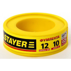 Фум лента STAYER 12360-12-025 10 м (12360-12-025)
